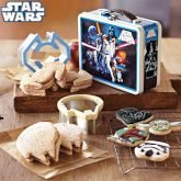 Star Wars™ Sandwich Cutters with Vintage-Style Tin